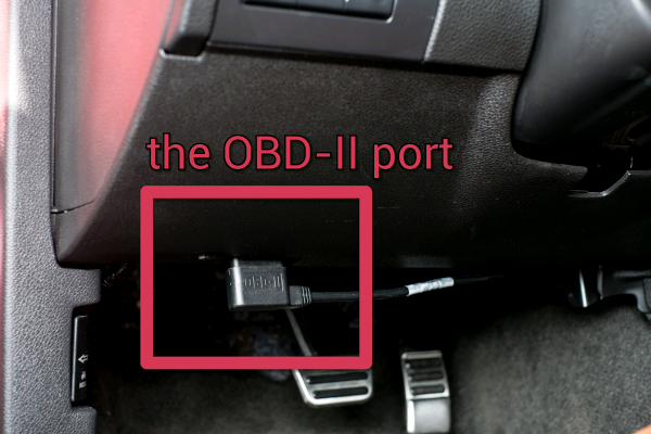 Application-OBDii Port