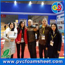 Hoja de espuma de PVC (tamaño caliente: 1.22m * 2.44m)