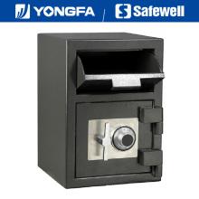 Panel Safewell Ds de 20 pulgadas de altura Banco de uso seguro de depósitos