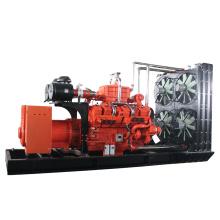 New energy silent natural gas generator set 1000kva