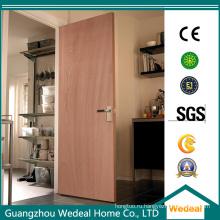 Белые грунтованные внутренние деревянные двери массового производства для дома