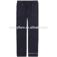 100% calças de cashmere para mulheres