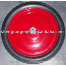 Solid rubber wheel 14'' x1.75''