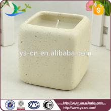 Sostenedores de vela de cerámica cuadrados calientes de la venta