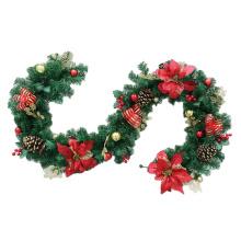 200cm wholesale Decorative PVC Christmas garland