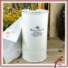 Керамический держатель для туалетной бумаги «French Pharmacy»