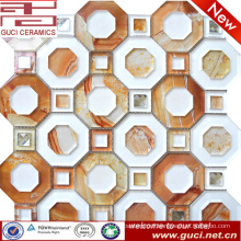 new design Mosaic Glass Tiles in Acrylic for shop wall decoration