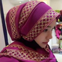 Hangzhou Factory Islamic hijab arab style women one piece hijab scarf for spring