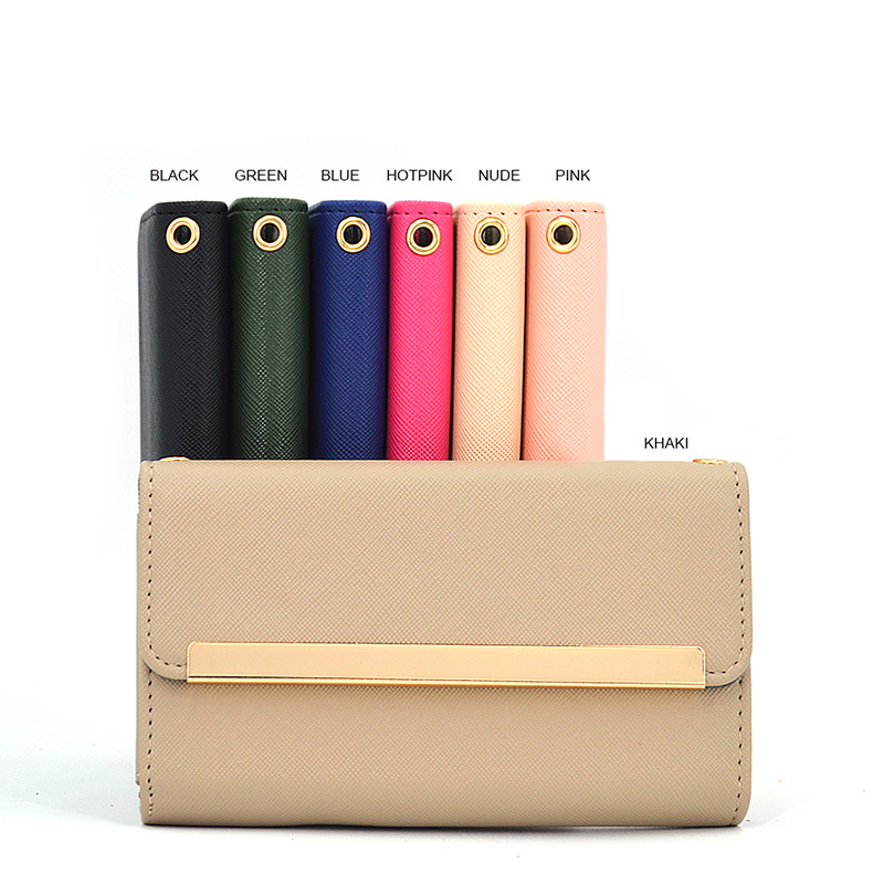 Mirror Leather Wallet Phone Case for Iphone X