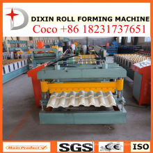 Ce/ISO9001 Certification Glazed Tile Roll Forming Machine