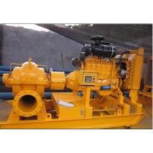 Двигатель дизель Одноместный всасывания Сплит корпуса орошения водяной насос