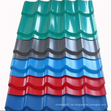 Wellpappe-Glasdachplatten aus China