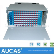 Aucas Manufacture 12 24 48 Port Optisches Faser Patch Panel ODF