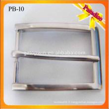 PB10 Fashion Hommes Boucle de perle de qualité pour ceinture en cuir Boucle de ceinture en cuir de 30 mm