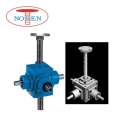 Fast Speed  Right Angle Power Input Bevel Gear Screw Jack