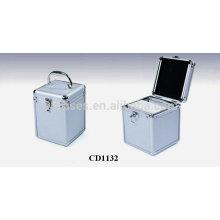 caja de CD de alta calidad CD 80 discos aluminio por mayor de China fabricante