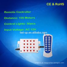 Zhongshan controle remoto 30pcs luz da piscina levou luz controlador AC12V
