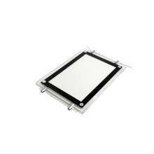 Edgelight CF9 Real estate agent led window display slim double side crystal light box