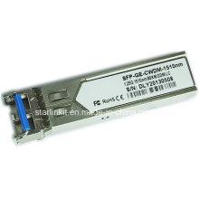 Transceptor de fibra ótica SFP-Ge-CWDM-1510nm de terceiros compatível com Switches Cisco