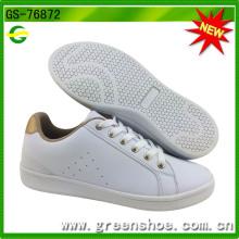 Новый популярный Белый PU обувь для женщин