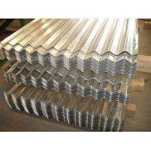 Hoja de acero corrugado galvanizado de la techumbre / de la pared