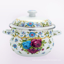 enamel pot of big body & sales & cheap & cooking