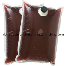Red Wine Packaging Bag in Box/Liquid Coffee Bag/Bib Bag in Box