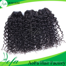 High Quality Unprocessed Virgin Curly Hair Human Remy Hair