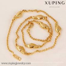 41543-Xuping Nouvelle Mode Or Poisson Bijoux Collier Charme En Gros