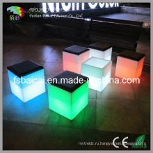 Водонепроницаемый светодиодный свет Бар Куб Стул Bcr-151s