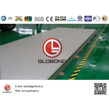 Globond Brushed Stainless Steel Sheet 038