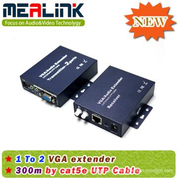 300m VGA Extender Over Cat6e