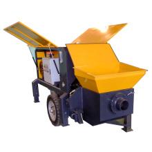Pompe de transport transportant le béton hydraulique portable
