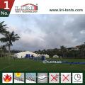 40X100m grande tente d'exposition pour exposition et foire commerciale