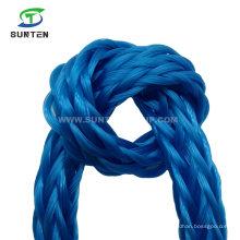 High Tenacity Virgin PE/HDPE/Nylon/Polyethelene/Plastic/Rescue/Safety Hollow Braided Rope