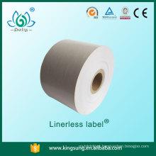 etiqueta sem liner sem papel de base