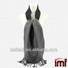 2014 Новый шарф шерсти людей нового прибытия сплетенный черным
