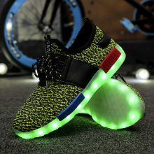 Led Shoes Sports Shoes for Men Women Fabric Size 35-46