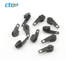 High end factory wholesale cheap price eco-friendly zipper stopper zipper slider and puller metal zipper head