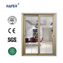 Double Leaf Cheap Sliding Glass Door (RA-G147)