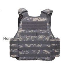 Militär Acu Digital Camouflage Stoff Molle Platte Träger Weste (HY-BA024)