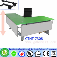 modern office meeting table manual crank height adjustable conference table
