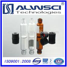 2 ml 8-425 HPLC Flacon de chromatographie Flacon de verre transparent 12 * 32 mm