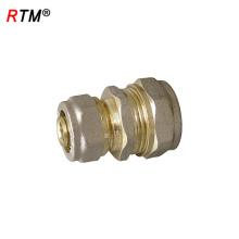 Um 17 4 10 preço por atacado de compressão de latão encaixe encaixe de tubulação de pap encaixe de compressão de latão