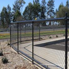Chain Link Mesh Fence in Garden, Farm