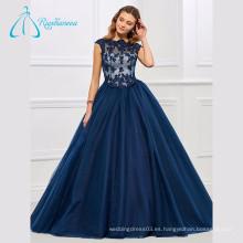 Vestidos de bola de Tulle Lace Appliques Scalloped Quinceanera Dresses
