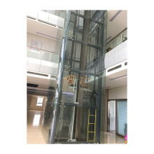 Outdoor Panoramic Elevator Passenger Lift For Sightseeing