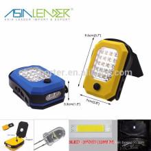 Produits Asia Leader BT-4810 3LED + 30SMD 1200 lumens Lampe de travail portable à LED