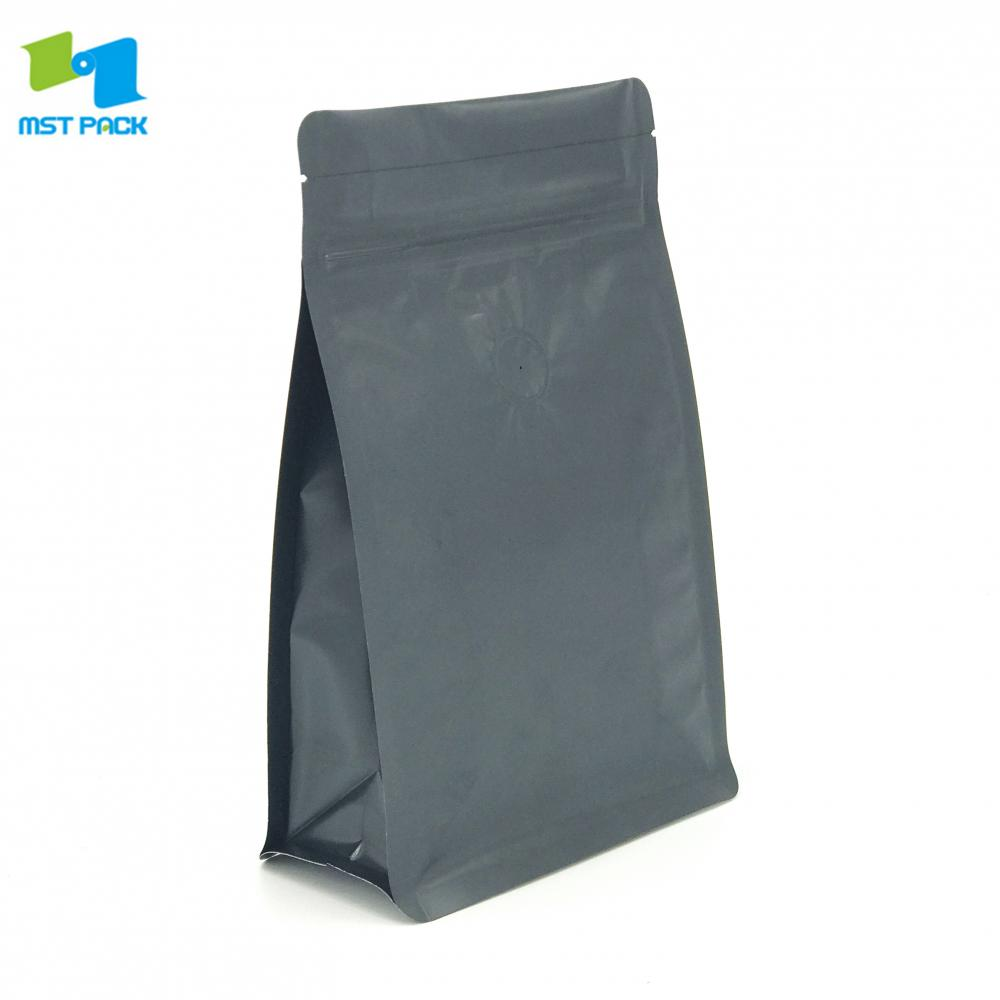 Matte Black Coffee Pouch