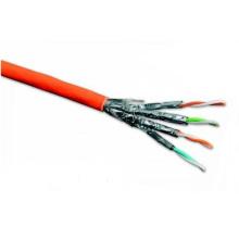 Cabo Ethernet CAT6A High-End com Dados 10g Cobre Recozido 500MHz
